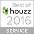 Houzz 2016 Best in Service