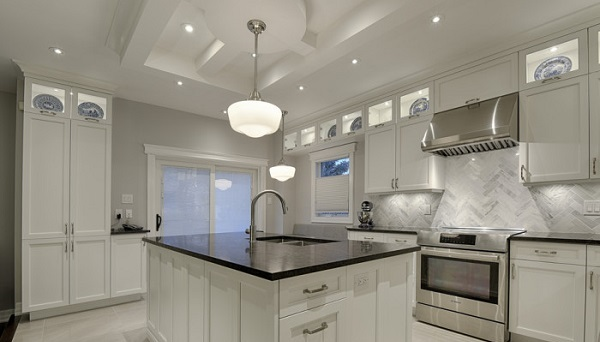 how to design the perfect kitchen lighting layout : copperstone