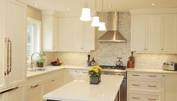 White Kitchen Renovation Bright Airy